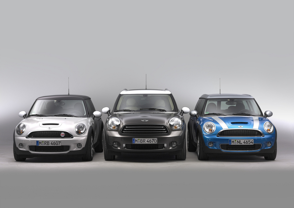 I Found This Photo Showing An Mcs Clubman And The New Countryman Good For Size Comparisons