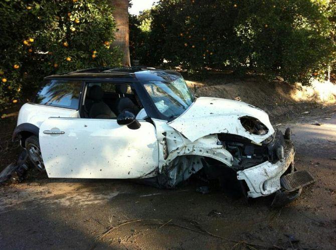 Impressive Mini Cooper Crash Occupants Okay Puget Sound Motoring Club Forums